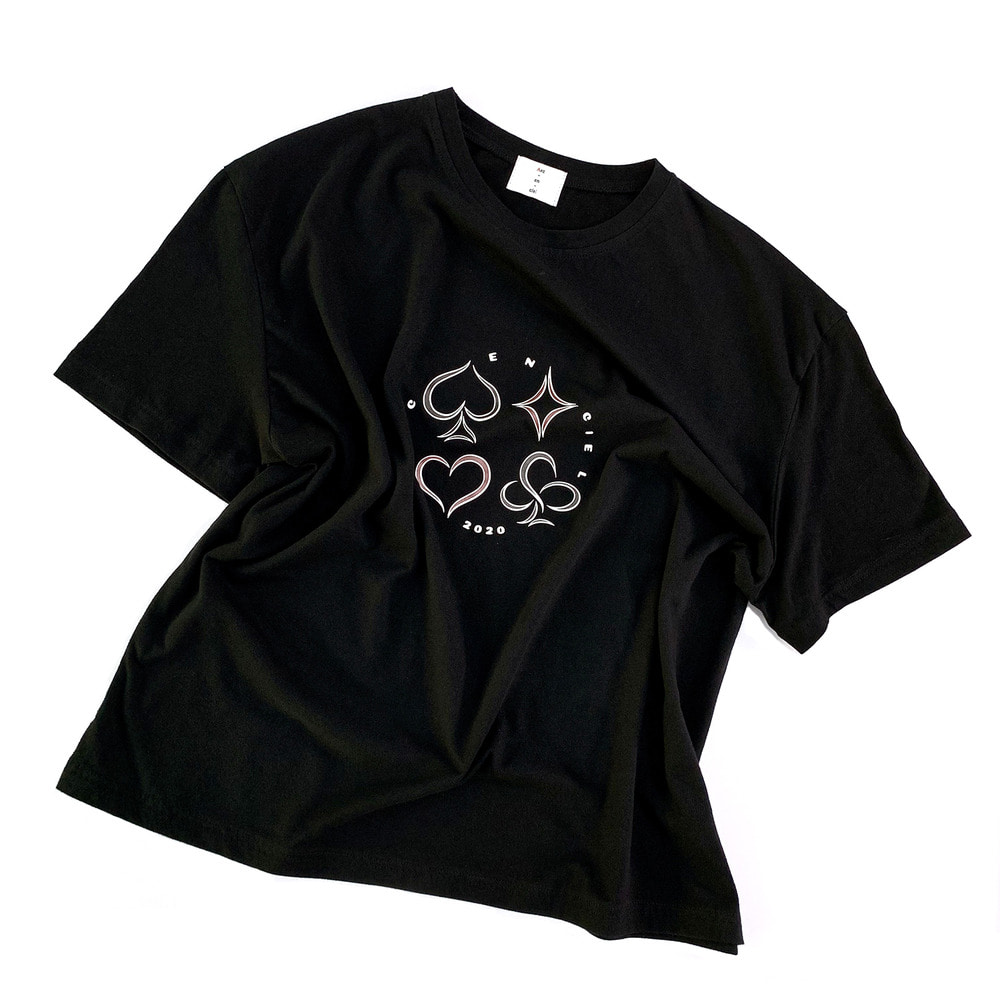 2020 pokergame tshirt (Black)