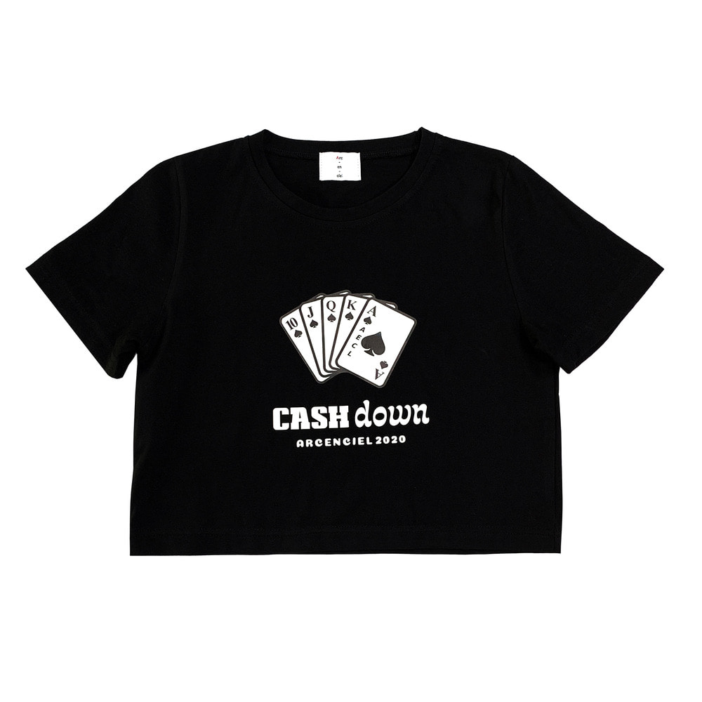 Cash down tshirt (cropped)