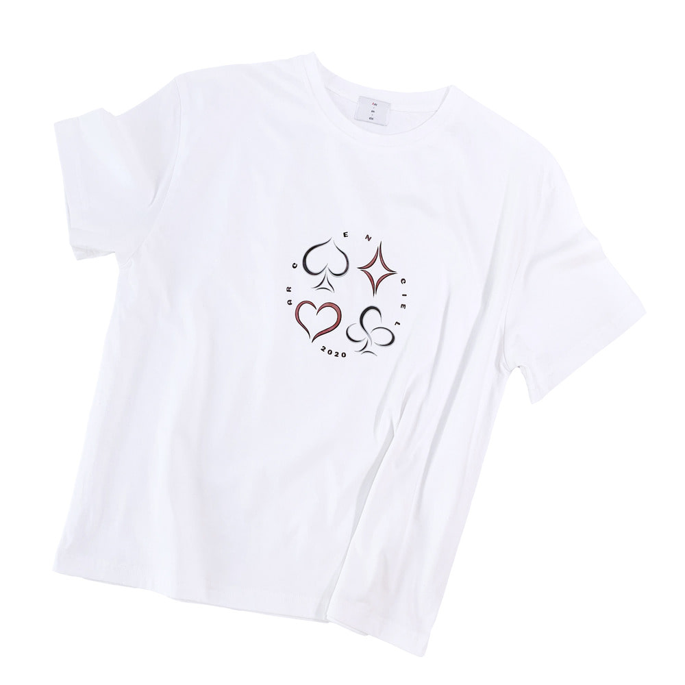 2020 pokergame tshirt (White)